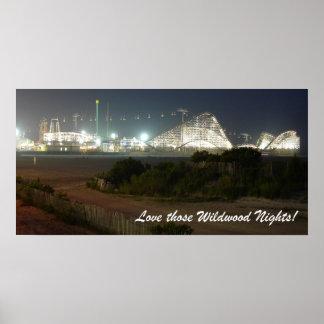 Love Those Wildwood Nights! Poster