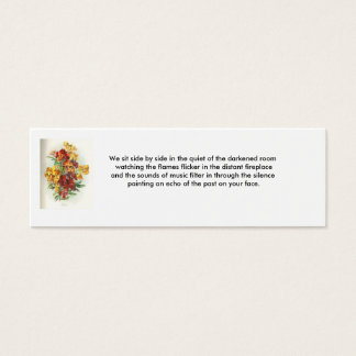 Love Thoughts - 4 Mini Business Card