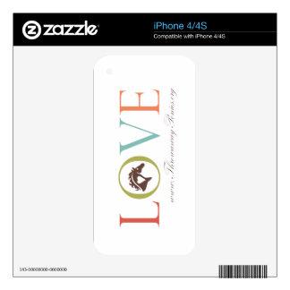 LOVE Throwaway Ponies iPhone 4/4s iPhone 4 Decals