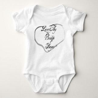 Love Thy Bridge Player Baby Bodysuit