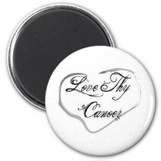 Love Thy Canoer 2 Inch Round Magnet