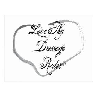 Love Thy Dressage Rider Post Card