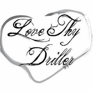 Love Thy Driller Photo Sculpture Ornament