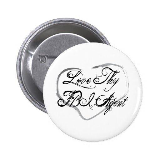 Love Thy FBI Agent Buttons