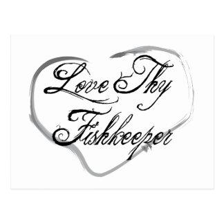 Love Thy Fishkeeper Postcard