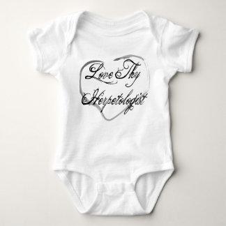Love Thy Herpetologist Baby Bodysuit