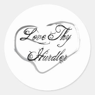 Love Thy Hurdler Stickers