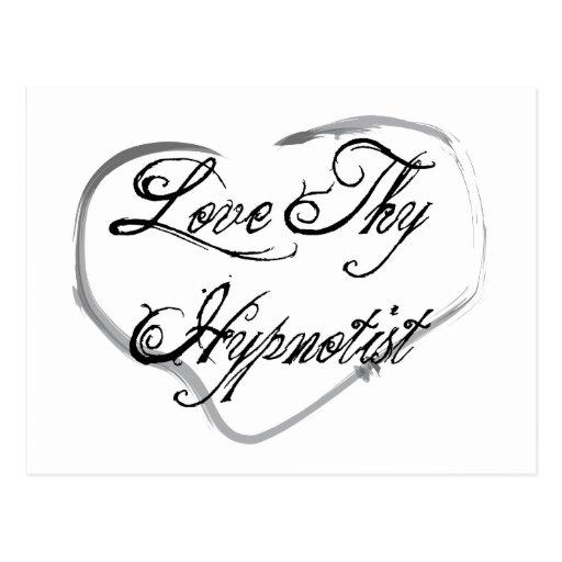 Love Thy Hypnotist Postcards