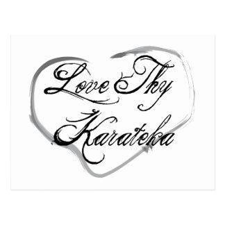 Love Thy Karateka Postcard