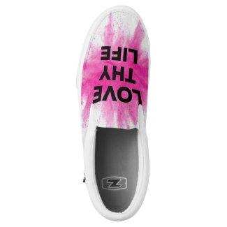 Love Thy LIfe Slip On's Slip-On Sneakers