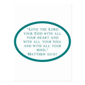 Love Thy Lord Postcard