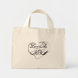 Love Thy MBA Canvas Bags