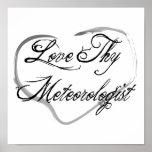 Love Thy Meteorologist Poster