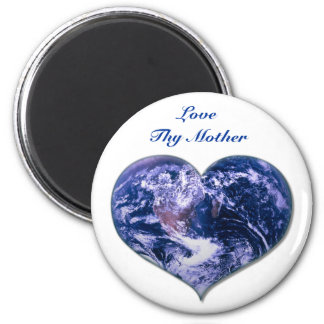 Love Thy Mother 2 Inch Round Magnet
