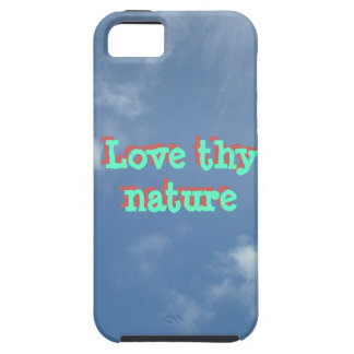 Love thy nature iPhone Case clouds iPhone 5 Cases