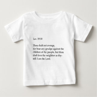 Love thy neighbor apparel baby T-Shirt