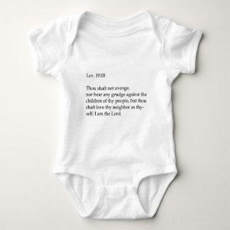 Love thy neighbor apparel infant creeper