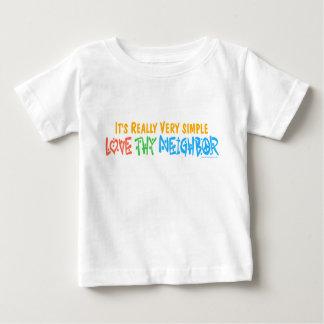 Love Thy Neighbor Baby T-Shirt