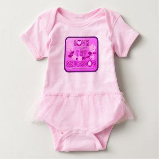 Love Thy Neighbor Baby Tutu Bodysuit