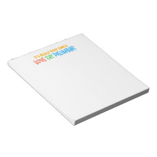 Love Thy Neighbor Notepad