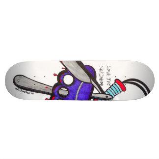 Love Thy Neighbor Skateboard Deck