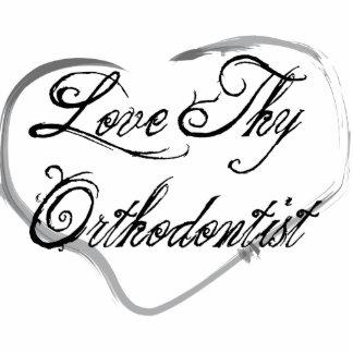 Love Thy Orthodontist Photo Sculpture Ornament