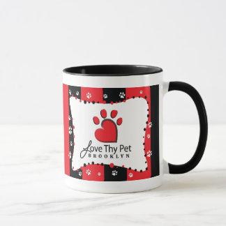 Love Thy Pet Heart Logo Muge Mug