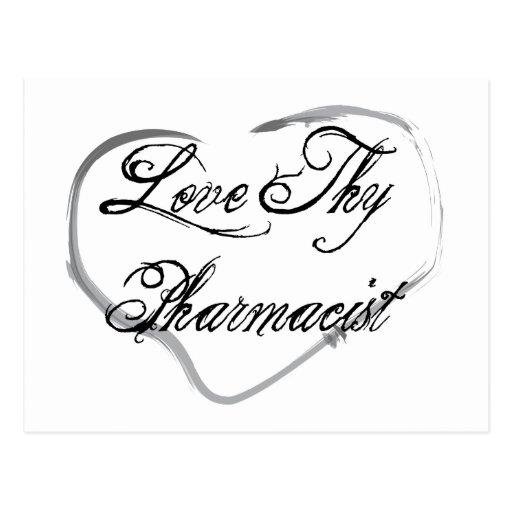 Love Thy Pharmacist Postcards