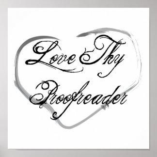 Love Thy Proofreader Print