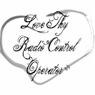 Love Thy Radio Control Operator Photo Sculpture Ornament