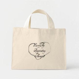 Love Thy Respiratory Therapist Canvas Bag