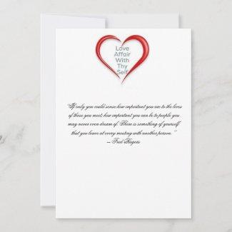Love thy Self Card