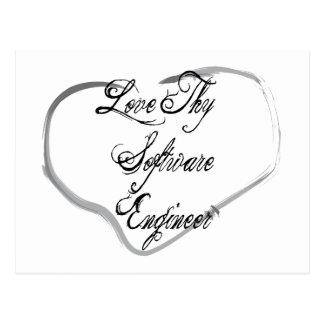 Love Thy Software Engineer Postcard