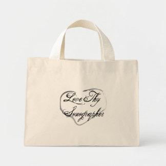 Love Thy Sonographer Mini Tote Bag