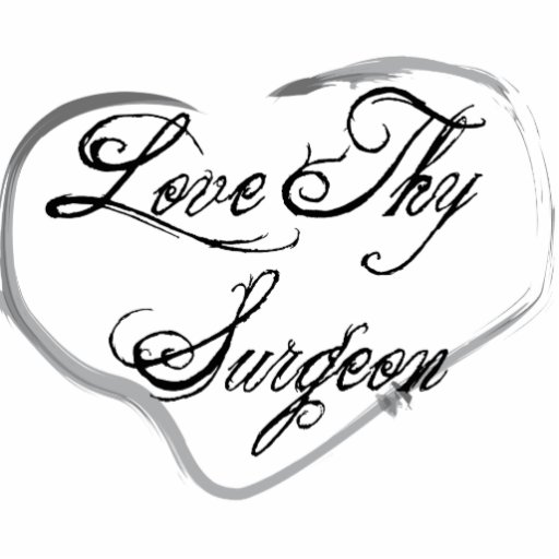 Love Thy Surgeon Photo Sculptures