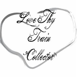 Love Thy Train Collector Photo Sculpture Ornament