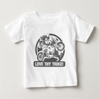 love thy trike - motorcycle baby T-Shirt