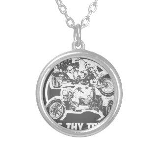 love thy trike - motorcycle custom necklace
