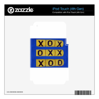 Love Tic-Tac-Toe Skin For iPod Touch 4G