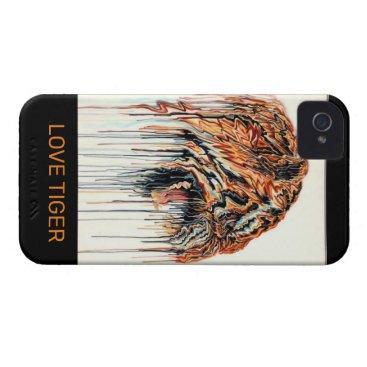 LOVE TIGER PHONE CASE