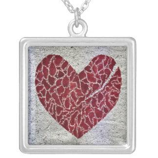 Love til it hurts square pendant necklace