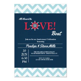 Love Tiller Invitation