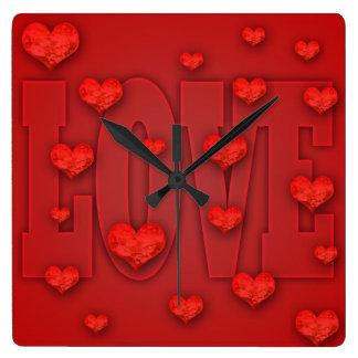 Love Time Square Clock