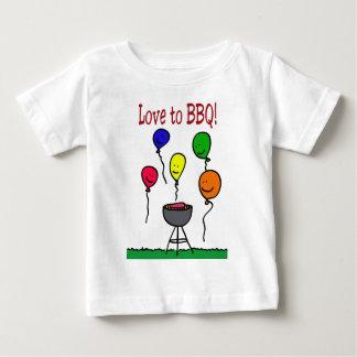 Love to BBQ Baby T-Shirt