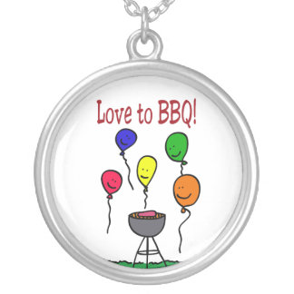 Love to BBQ Necklace