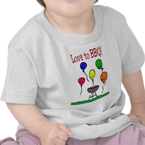 Love to BBQ T-shirt
