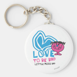 Love To Be Bad | Deformed Heart Keychain