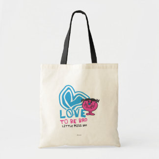 Love To Be Bad | Deformed Heart Tote Bag