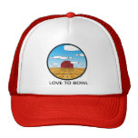 Love to bowl hat