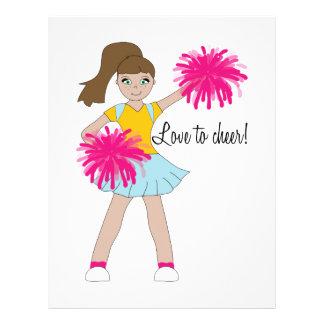 Love To Cheer! Letterhead Template